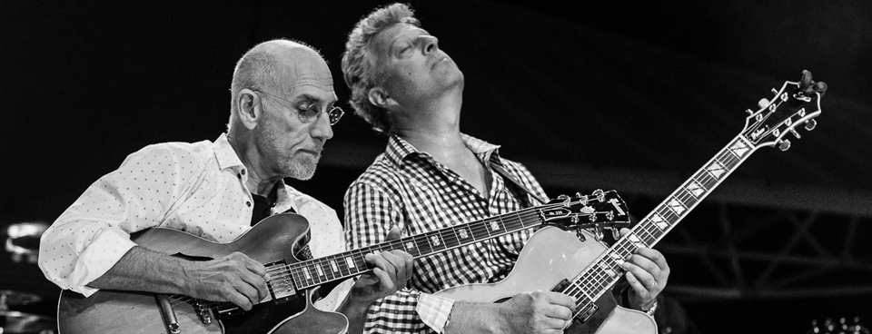 Paul Brown with Larry Carlton