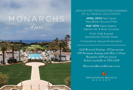 Paul Brown Jazz at the Monarch Beach Resort